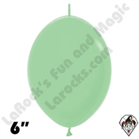 Betallatex 6 Inch Deluxe Mint Green Link O Loon 50ct