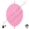 Betallatex 6 Inch Fashion Bubble Gum Pink Link O Loon 50ct