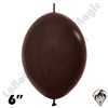 Betallatex 6 Inch Deluxe Chocolate Brown Link O Loon 50ct