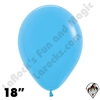 18 Inch Round Fashion Blue Betallatex 25ct