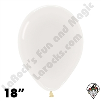 18 Inch Round Crystal Clear Betallatex 25ct