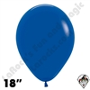 18 Inch Round Fashion Royal Blue Betallatex 25ct
