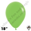 18 Inch Round Deluxe Key Lime Betallatex 25ct