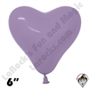Betallatex 6 Inch Heart Deluxe Lilac 100ct
