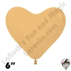 Betallatex 6 Inch Heart Deluxe Toffee 100ct