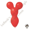 Betallatex Big Bear Head Balloon Red 18 inch 50ct