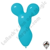 Betallatex Big Bear Head Balloon Fashion Blue 18 inch 50ct