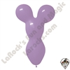 Betallatex Big Bear Head Balloon Lilac 18 inch 50ct