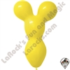 Betallatex Big Bear Head Balloon Yellow 18 inch 50ct