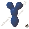 Betallatex Big Bear Head Balloon Royal Blue 18 inch 50ct
