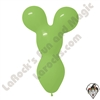 Betallatex Big Bear Head Balloon Key Lime Green 18 inch 50ct