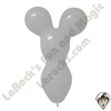 Betallatex Big Bear Head Balloon Gray 18 inch 50ct