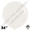 36 Inch Round Crystal Clear Betallatex 10ct
