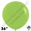 36 Inch Round Deluxe Key Lime Betallatex 10ct