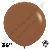 36 Inch Round Deluxe Caramel Betallatex 10ct