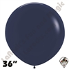 36 Inch Round Fashion Navy Blue Betallatex 10ct