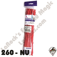 260B Nozzle Up Fashion Red Betallatex 50ct