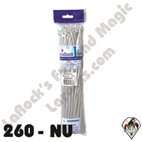 260B Nozzle Up Metallic Silver Betallatex 50ct