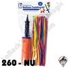 260B Assortment Nozzle Up Balloon Twisting Kit Betallatex 50ct