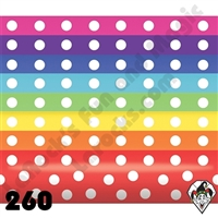 Betallatex 260B Assortment Polka Dot Print Balloons 50ct