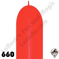 660B Link-O-Loon Fashion Red 50ct