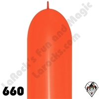 660B Link-O-Loon Fashion Orange 50ct