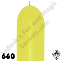 660B Link-O-Loon Neon Yellow 50ct
