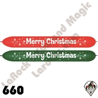 Betallatex 660B Link O Loon Assortment Merry Christmas 50ct