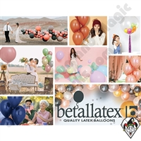 Betallic Latex Color Chart