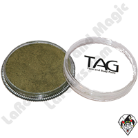 TAG Pearl Bronze Green 32 Gram Face & Body Art Paint