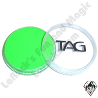 TAG Neon Green 32 Gram Face & Body Art Paint