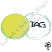 TAG Neon Yellow 32 Gram Face & Body Art Paint