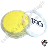 TAG Pearl Yellow 90 Gram Face & Body Art Paint