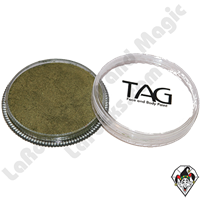 TAG Pearl Bronze Green 90 Gram Face & Body Art Paint