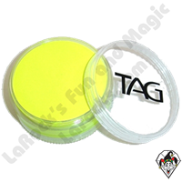 TAG Neon Yellow 90 Gram Face & Body Art Paint