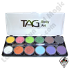 TAG Regular Palette 6 x 10g Face and Body Art Paint