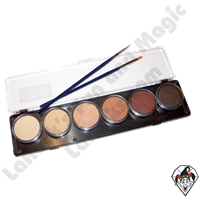 TAG Skin Tone Palette 6 x 10g Face and Body Art Paint