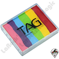 TAG Split Rainbow Regular 50 Gram Face & Body Art Paint