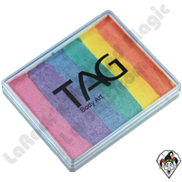 TAG Split Cake Rainbow Pearl 50 Gram Face & Body Art Paint