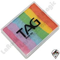 TAG Split Cake Delight Rainbow Pearl 50 Gram Face & Body Art Paint