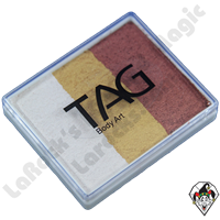 TAG Split Cake Foxy Base Pearl 50 Gram Face & Body Art Paint