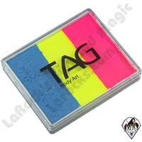 TAG Split Cake Carnival Neon 50 Gram Face & Body Art Paint