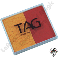 TAG Split Orange and Red Regular 50 Gram Face & Body Art Paint