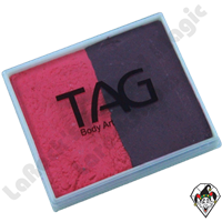 TAG Split Cake Berry Wine and Pink Regular 50 Gram Face & Body Art Paint