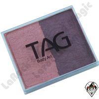 TAG Split Cake Blush and Wine Pearl 50 Gram Face & Body Art Paint
