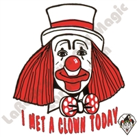 Stickers | Albert Stickers | I Met A Clown Today