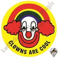 Stickers | Albert Stickers | Clowns are Cool