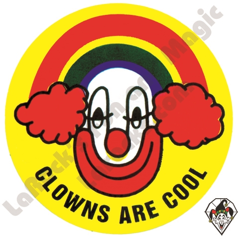 Stickers albert stickers clowns are cool