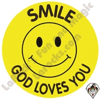 Stickers | Albert Stickers | Smile God Loves You
