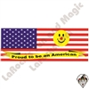 Stickers | Bumper Stickers | Proud to Be American Bumper Sticker